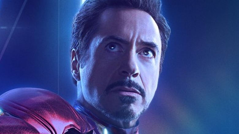 Robert Downey Jr. Iron Man poster Avengers Infinity War