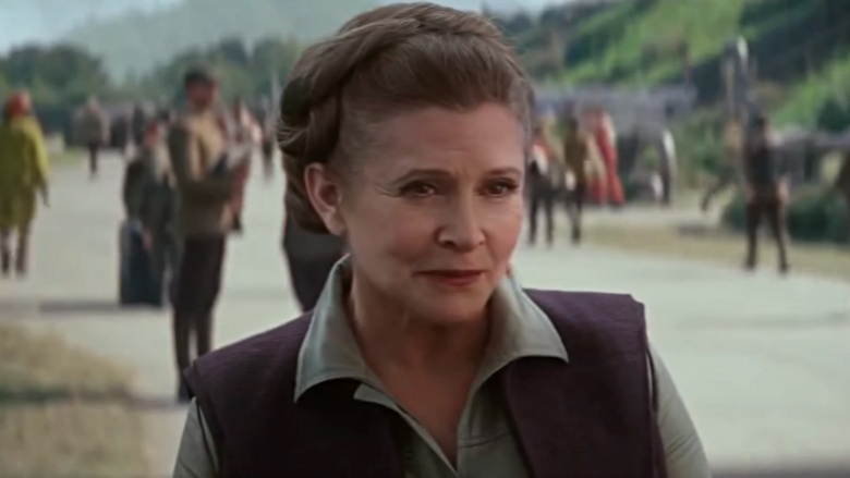 carrie fisher star wars 8
