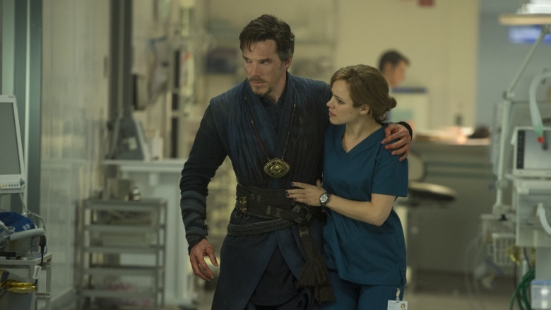 Doctor Strange and Christine Palmer