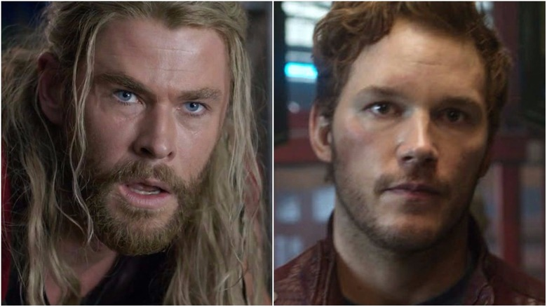 Chris Hemsworth Was 'Weirdly Shaken' By Meeting Chris Pratt