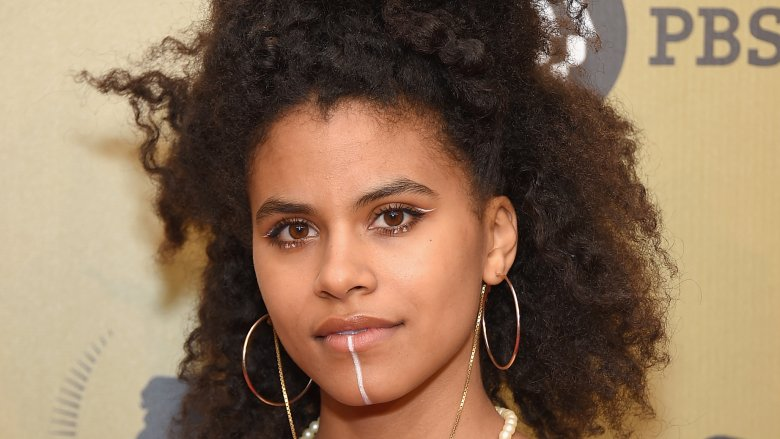 Zazie Beetz as Domino in 'Deadpool 2' class=