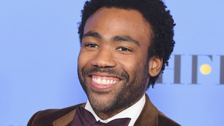 Donald Glover is Having a Blast as Lando Calrissian