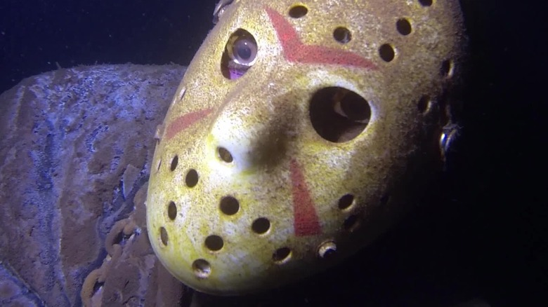 A Jason Voorhees Statue Lurks at the Bottom of a Minnesota Lake