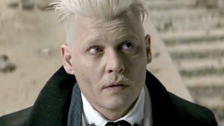 Fantastic Beasts sequel tease puts the spotlight on Johnny Depp's punk Grindelwald