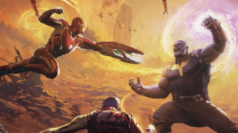 Infinity War concept art that will change how you see the movie