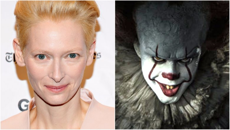 It producers considered Tilda Swinton as Pennywise