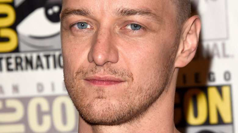 James McAvoy hates shaved head