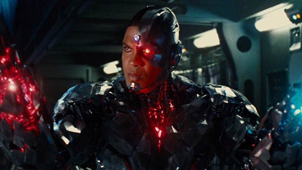 Ray Fisher as Victor Stone  Cyborg in Justice League