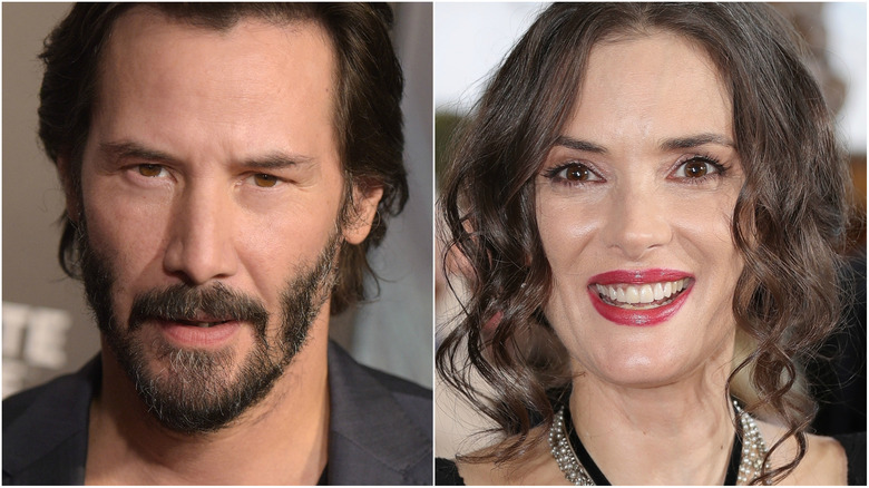Keanu Reeves, Winona Ryder team up for 'Destination Wedding'