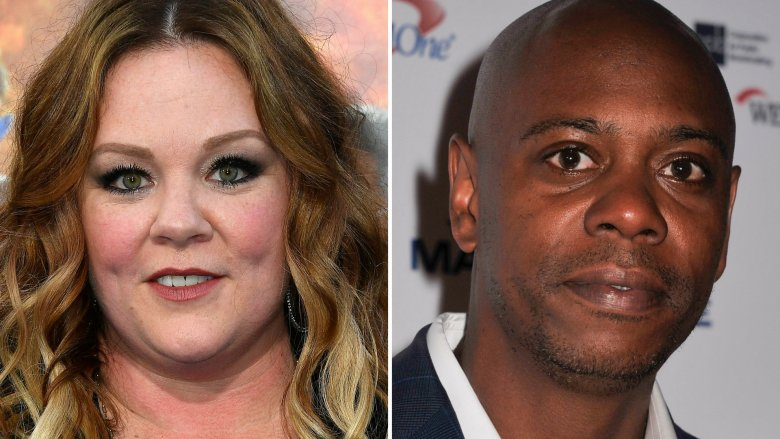 'SNL' Hosts Melissa McCarthy, Dave Chappelle Win Emmy Awards