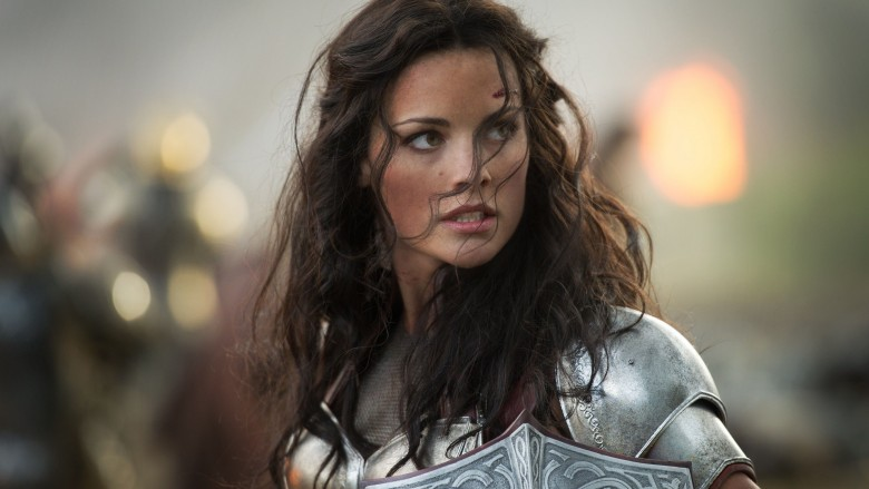 Jaimie Alexander in Thor: The Dark World
