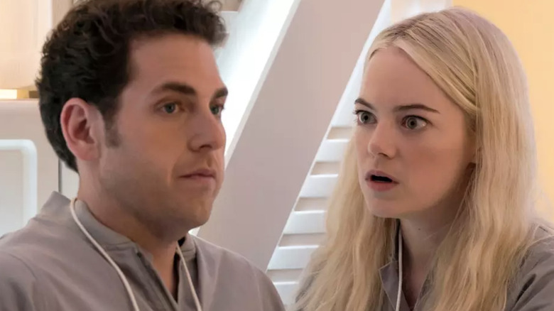 First Look at Emma Stone & Jonah Hill in Netflix's Maniac