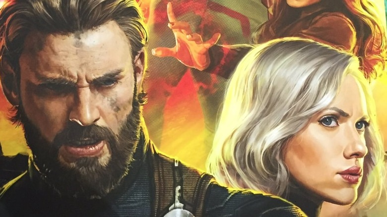 The Avengers: Infinity War Poster Features Bearded Captain America