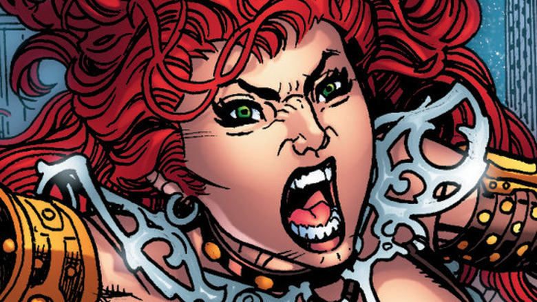 Red Sonja vol. 4 issue 1 by Amy Chu and Carlos Gomez