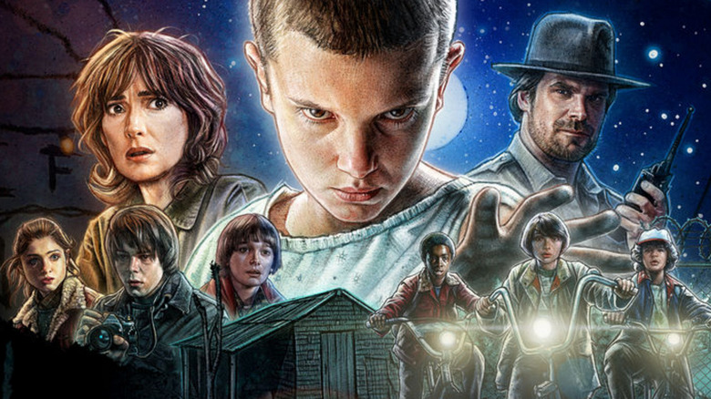 Stranger Things 2: Main poster and key art