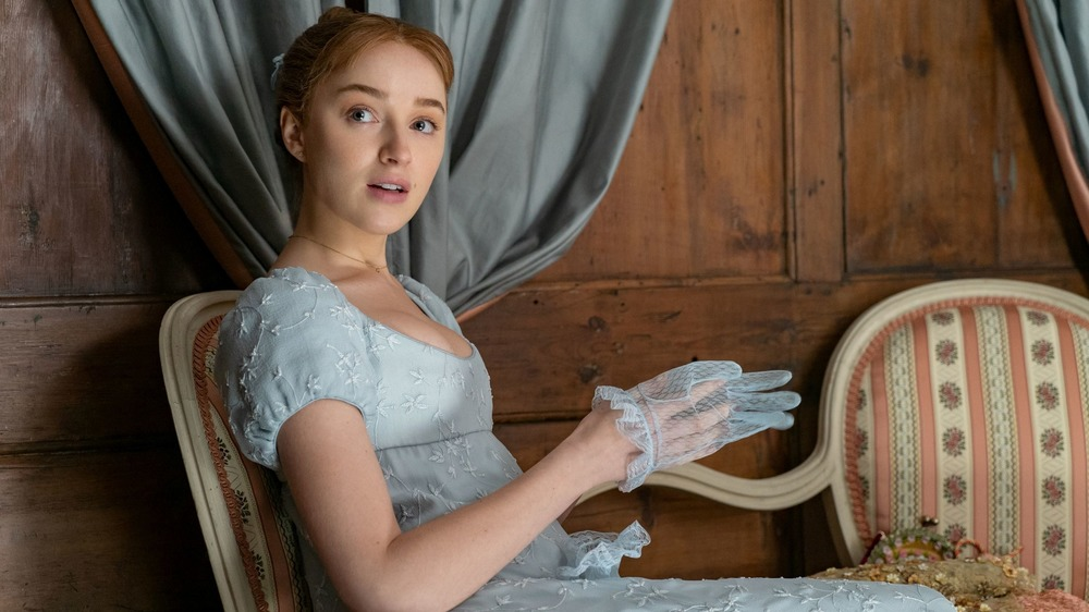 Phoebe Dynevor gives an update on Bridgerton season two filming