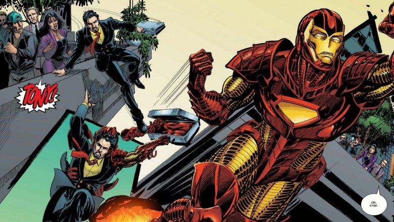 Iron Man #55, Marvel Comics 2002