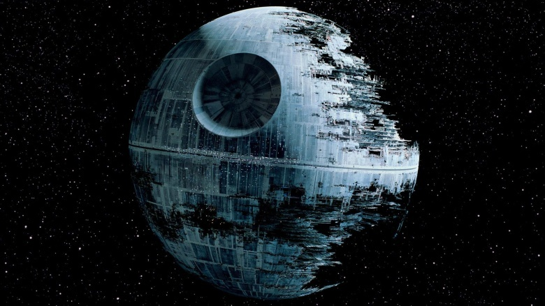 THE DEATH STAR RETURNS…UNDERWATER!