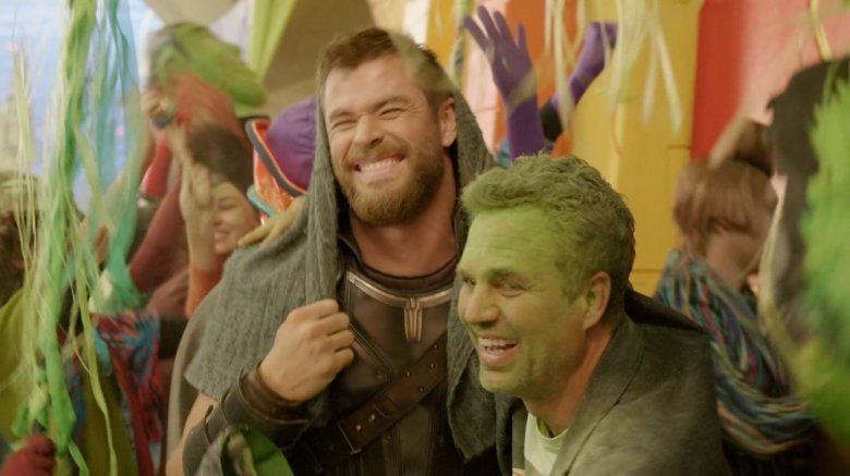 Chris Hemsworth Mark Ruffalo