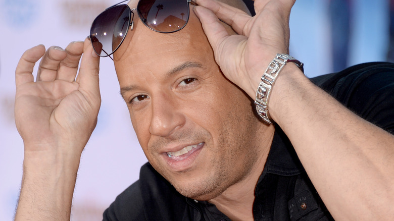 Vin Diesel has been named 2017's top grossing actor