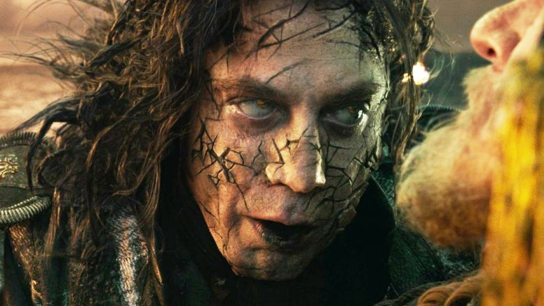 Javier Bardem on Pirates of the Caribbean's Captain Salazar