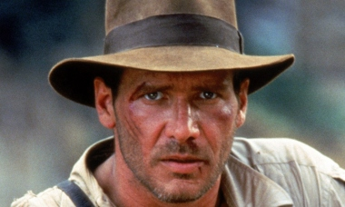 INDIANA JONES AND THE TEMPLE OF DOOM, Harrison Ford as Indiana Jones, 1984. ©Paramount/courtesy Ever