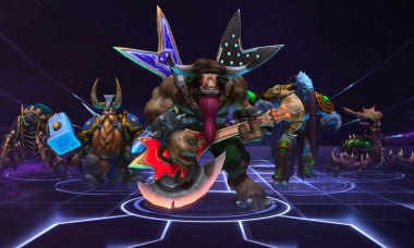 Heroes of the Storm Guitar Axe