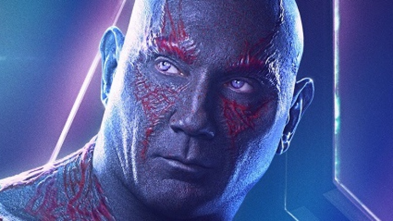 The Infinity War line that was Dave Bautista improv