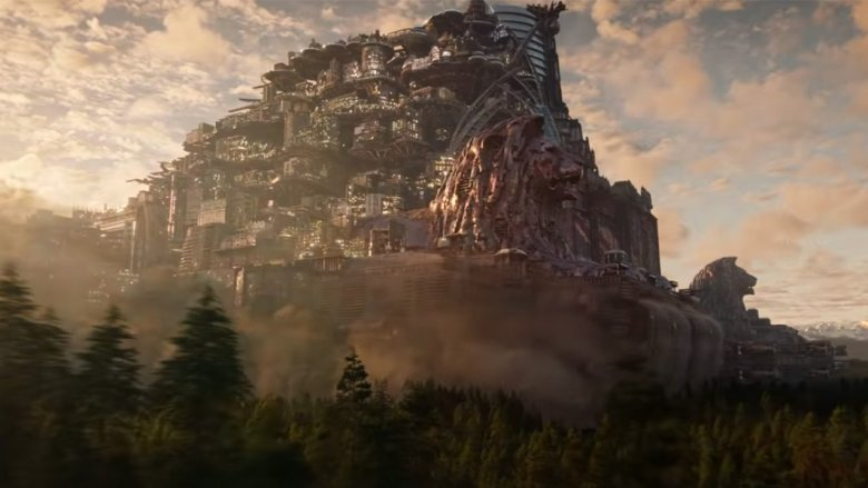 Scene from Mortal Engines