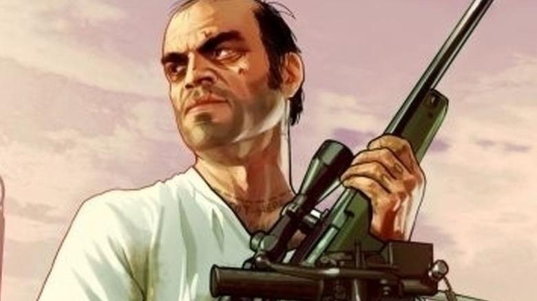 GTA Trevor rifle