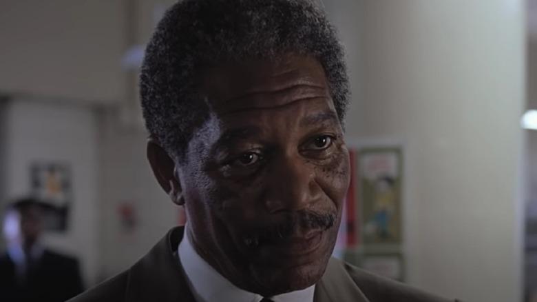Morgan Freeman in Deep Impact