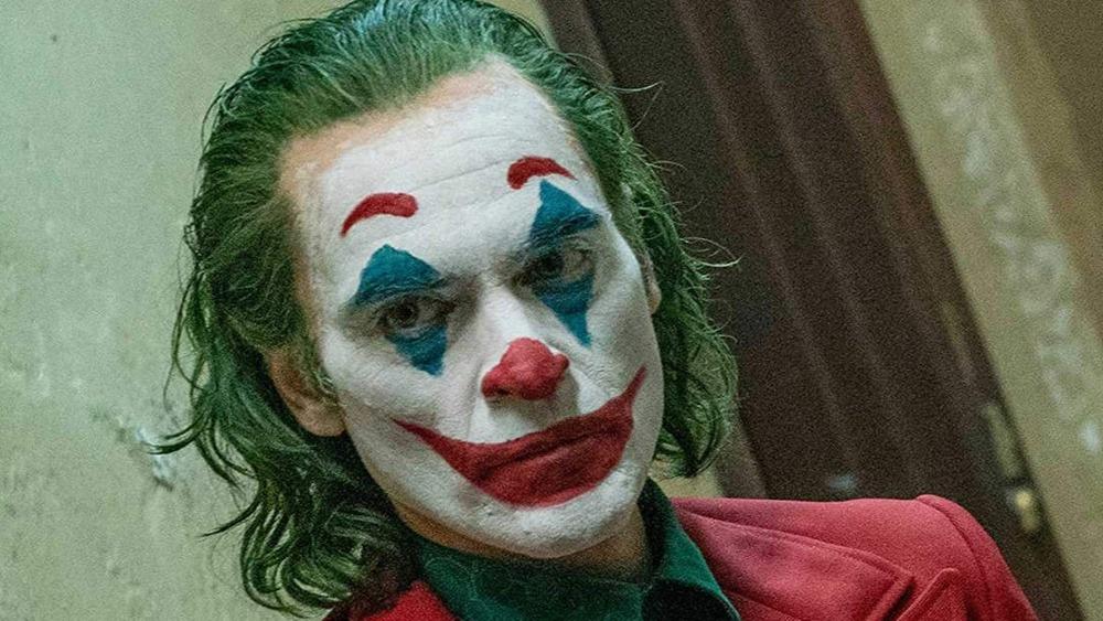 The Joker in a hallway