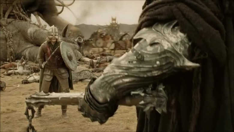 Eowyn fights the Witch King