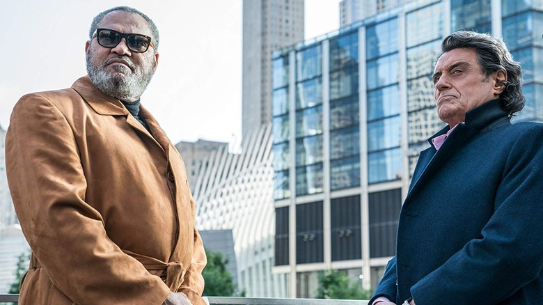 Laurence Fishburne and Ian McShane in John Wick Chapter 3 Parabellum