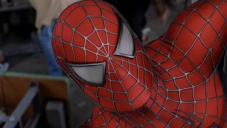 Spider-Man in 2002's Spider-Man