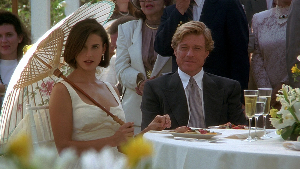 Demi Moore and Robert Redford