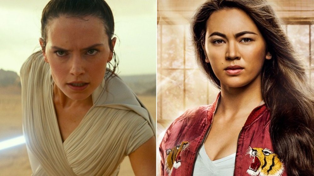 Daisy Ridley and Jessica Henwick
