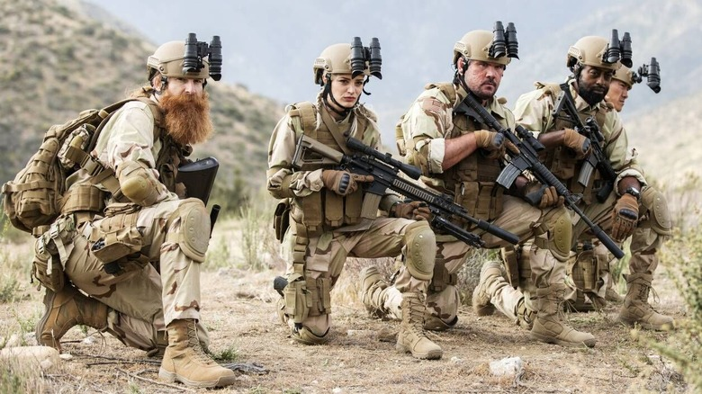 Cast of Rogue Warfare: The Hunt