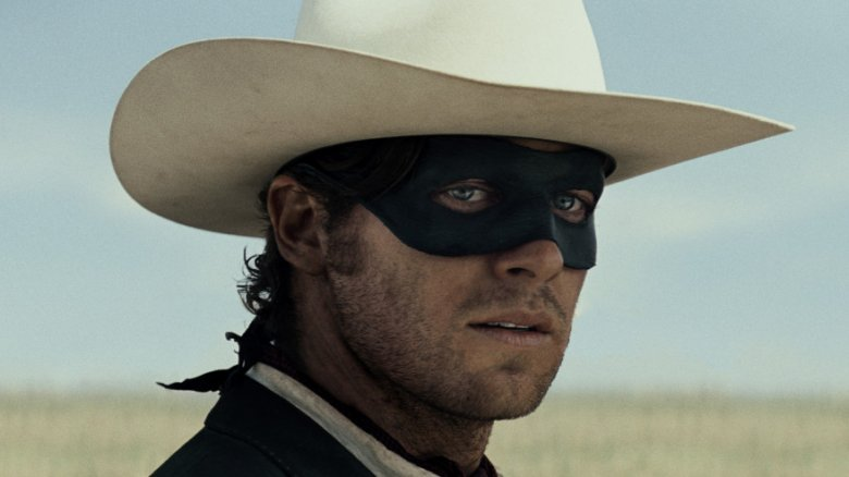Armie Hammer in The Lone Ranger