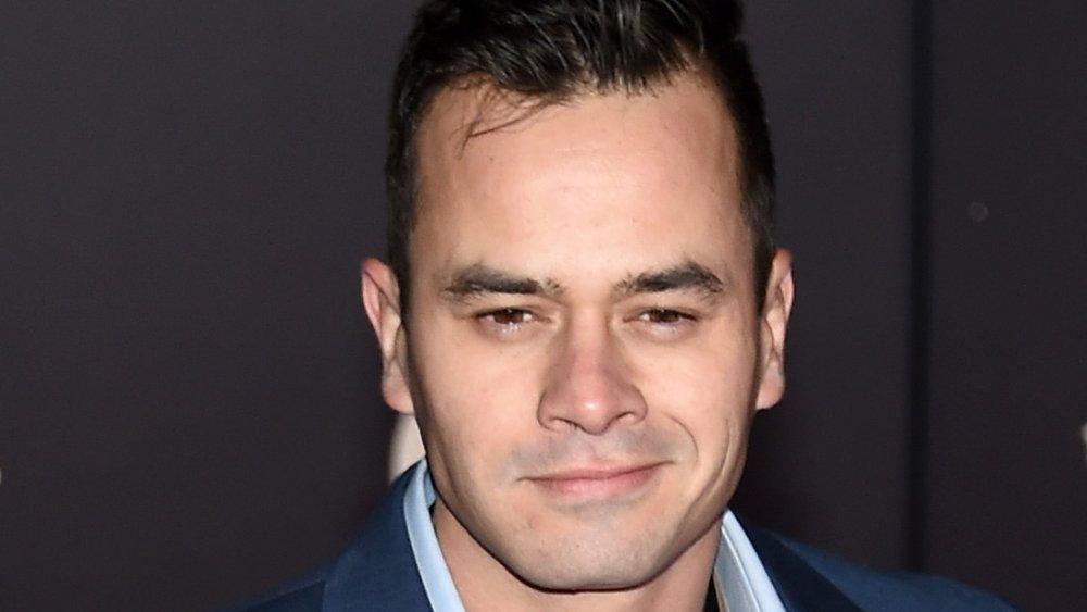 Daniel Logan at the Force Awakens premiere