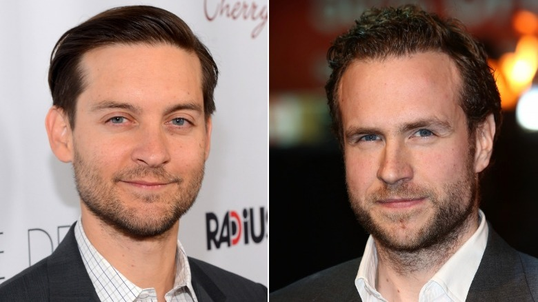 Tobey Maguire and Rafe Spall