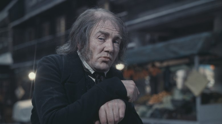 Albert Finney as Ebenezer Scrooge
