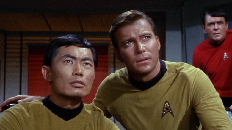 Sulu and Kirk
