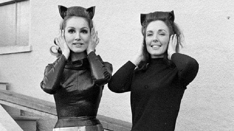 Julie Newmar and Marilyn Watson