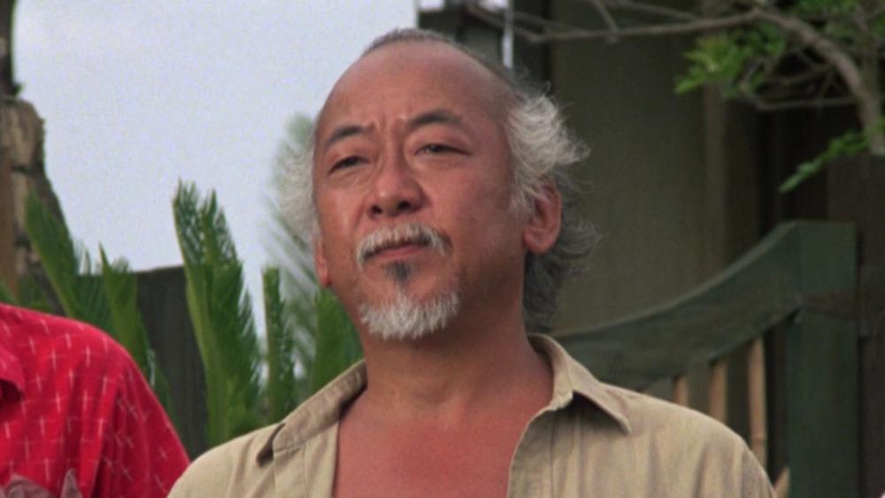 Pat Morita as Mr. Miyagi