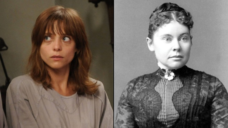 Grace Bertrand from American Horror Story and Lizzie Borden