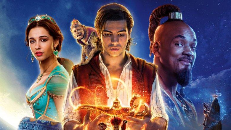 Disney live-action Aladdin poster