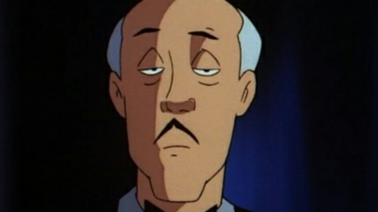 Alfred Pennyworth, Batman's butler, in Batman: The Animated Series