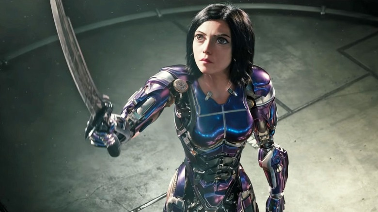 The title character comes into her own by the end of Alita: Battle Angel