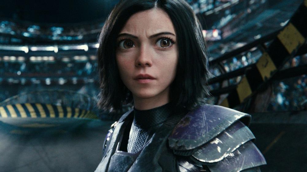Alita wearing armor